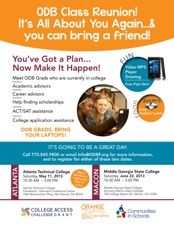 College Readiness Event Flyer